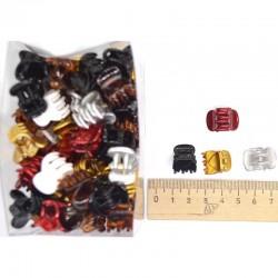 Краб глянец 1,5 см цветной (1 уп) М49