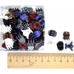 Краб 1 см цветной (12 шт) М50
