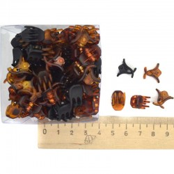Краб 1 см янтарный (1 уп) М51