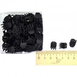 Краб 1 см черный (12 шт) М52