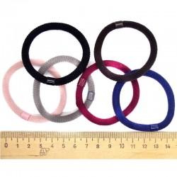 Резинка для волос прямая микс (5 шт)