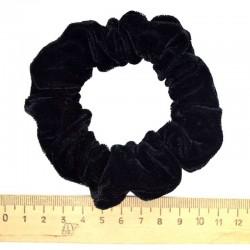 Резинка бархат средняя черная (1 шт)