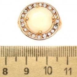 Кольцо мм М2 круг белый