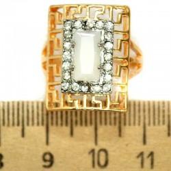 Кольцо мм М5 прямоугольник белый