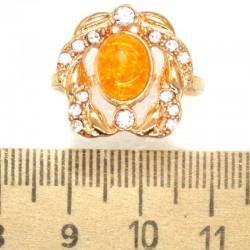 Кольцо мм М6 круг янтарный
