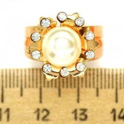 Кольцо мм М29 жемчужинка круг