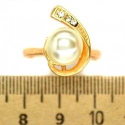 Кольцо мм М34 запятая жемчужина