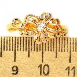 Кольцо мм М46 цветок ажурный