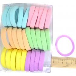 Резинка для волос пастель(30 шт) Р47