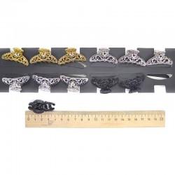 Краб металл 3 см микс пара(2 шт) М71
