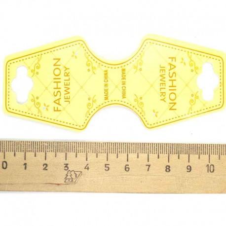 Набор этикеток универсальный желтый (100 шт)