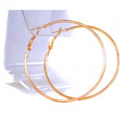 Серьги модель 180 кольца D 3,5 см