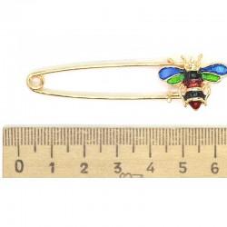 Брошь булавка пчела М173