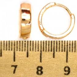 Серьги кольцо круглый прямоугольник округлый М187